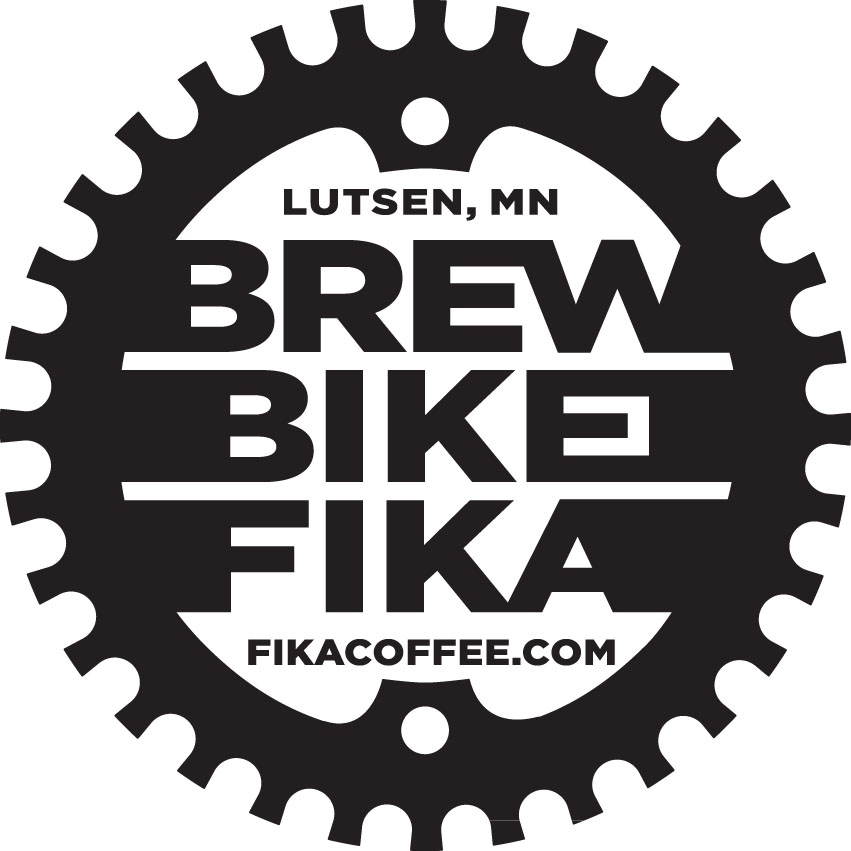 Fika BREW BIKE FIKA Sticker B2 FINAL PRESS