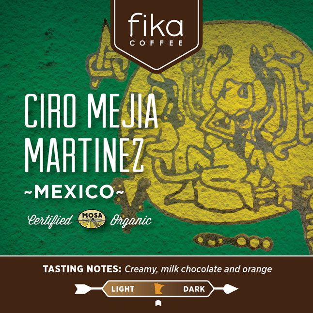 Fika Coffee Card-New Size-Mexico 2 thumbnail