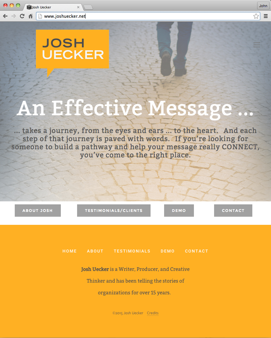 JoshUecker_Website_Home